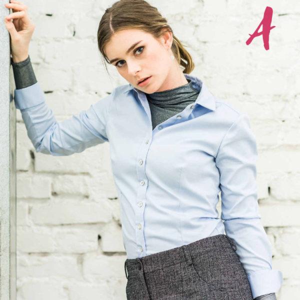 bluse-blau-hemdbluse-business-birne-youandjj-aformpink-ei005